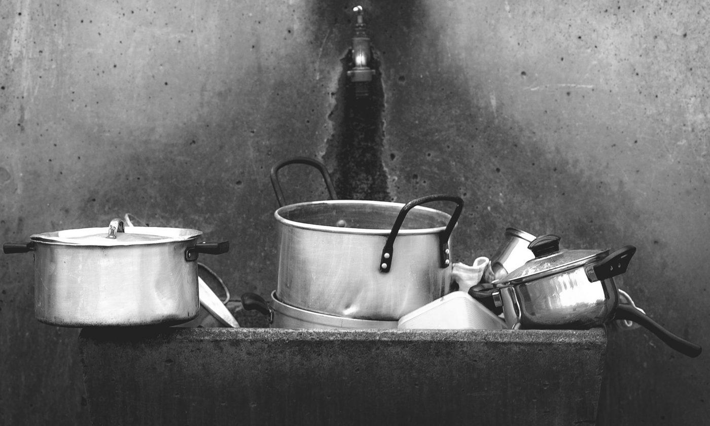 kitchen sink cover